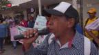 Video «Mordwelle überschattet Friedensprozess in Kolumbien» abspielen