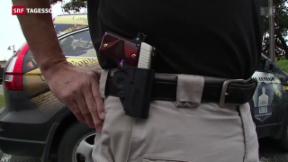 Video «Texas erlaubt offenes Tragen von Waffen» abspielen