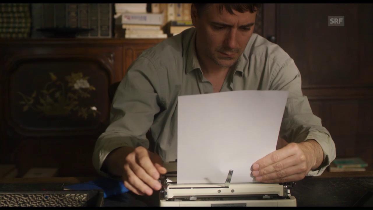 Ein Dialog direkt aus der Schreibstube (Filmszene)