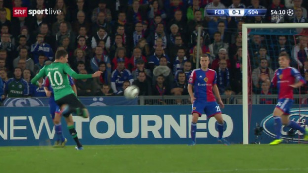 Video «Fussball: Highlights Basel - Schalke («sportlive»)» abspielen