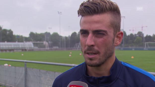 Video «Fussball: Marco Schönbächler über seine Verletzung» abspielen