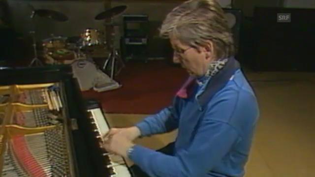 Irène Schweizer mit einer Improvisation von 1987