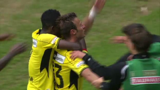 Video «Rang 3: YBs Zverotic gegen Lausanne (11 %)» abspielen