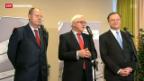 Video «Schlechte Umfragewerte für Kanzlerkandidat Steinbrück» abspielen