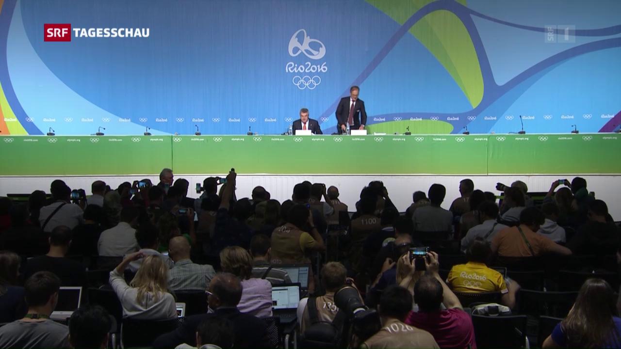 Startliste russischer Athleten wir noch bekannt gegeben