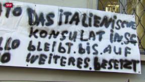 Video «Lonza-Quecksilber, Konsulat besetzt, Hangrutsch Weggis» abspielen
