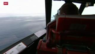 Video «Schwierige Suche nach Flugzeugtrümmern» abspielen