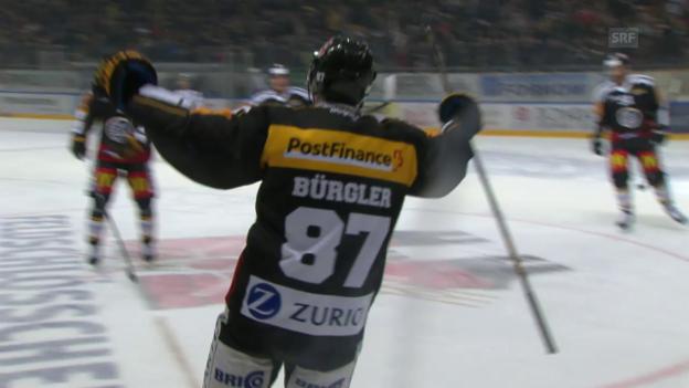 Video «Luganos Doppelschlag durch Bürgler und Vauclair» abspielen