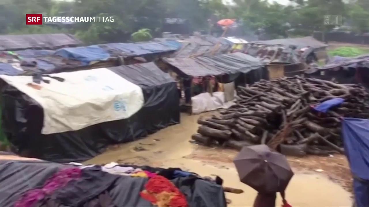 Burmas De-facto-Regierungschefin redet über Flüchtlingskrise