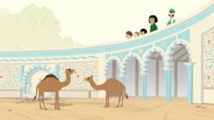 Video «Peek Zoo - Hässigi Kamel» abspielen