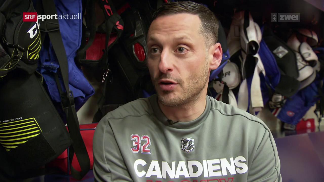 Mark Streit vor dem Saisonstart in der NHL