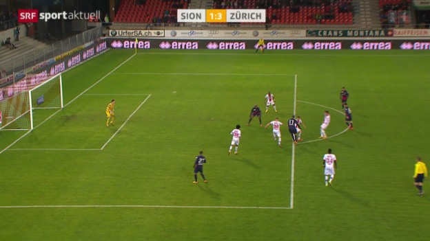 Video «Fussball: Super League, Sion - Zürich» abspielen