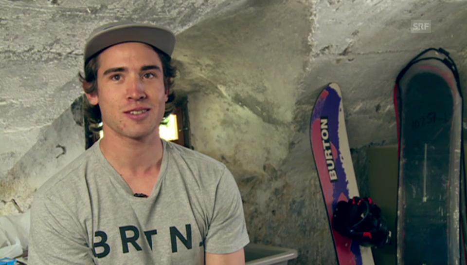 Christian Haller: Vom ruhigen Engadin in den wilden Snowboard-Zirkus