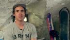 Video «Christian Haller: Vom ruhigen Engadin in den wilden Snowboard-Zirkus» abspielen
