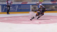 Video «Eishockey, Lugano-Gottéron, Tor Walsky» abspielen