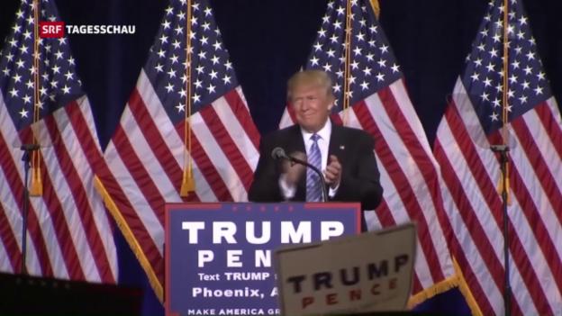 Video «Trump gnadenlos gegen Illegale» abspielen