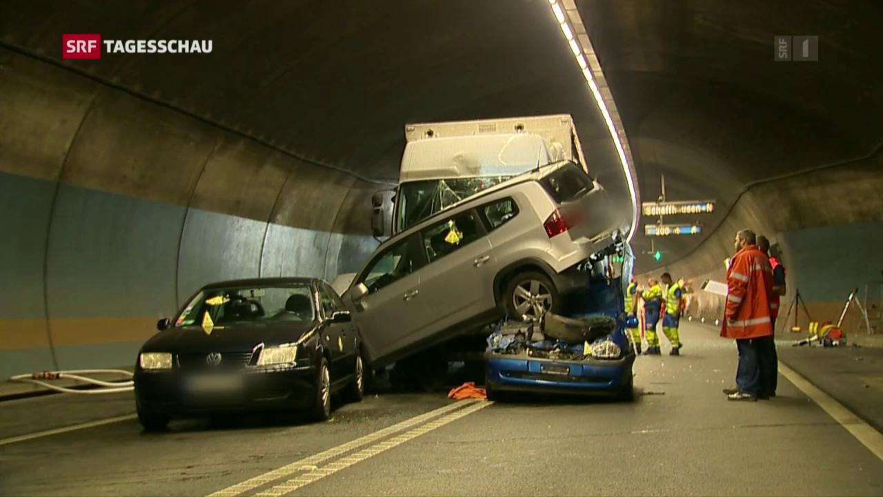 Schwerer Verkehrsunfall in Schaffhausen