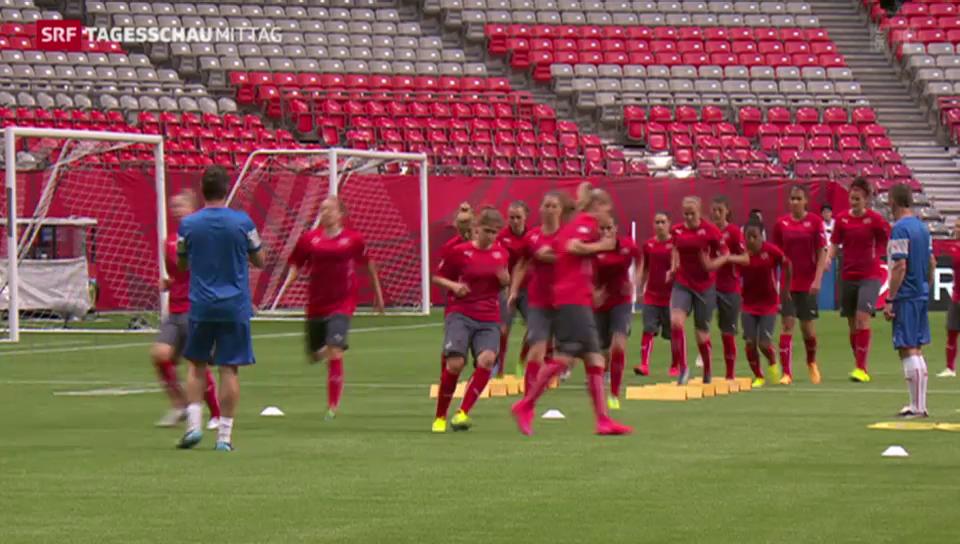 WM-Auftakt der Schweizer Frauen