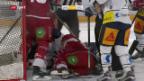 Video «Eishockey: NL, Lausanne - Zug» abspielen