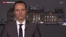 Video «Adrian Arnold zum Schweigen der Kanzlerin» abspielen