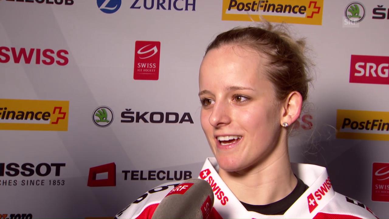 Lara Stalder: «Tschechien kann kommen»