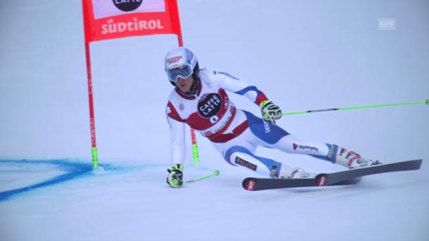 Video «Ski Alpin: Weltcup, Riesenslalom Alta Badia, 2. Lauf Carlo Janka» abspielen