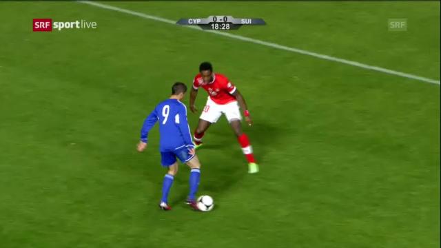 Fussball: Highlights Zypern - Schweiz