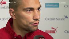 Video «Fussball: Nati vor dem Litauen-Spiel» abspielen