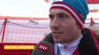 Video «Ski Alpin: Slalom der Männer, Interview mit Marcel Hirscher (sotschi direkt, 22.2.2014)» abspielen