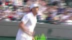 Video «Tennis: Djokovic scheitert an Querrey» abspielen