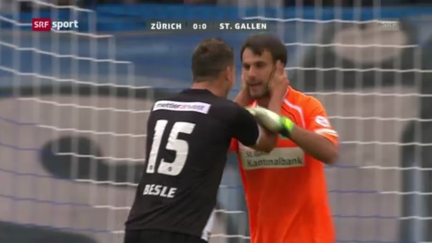 Video «SL: FCZ - St. Gallen («sportpanorama»)» abspielen