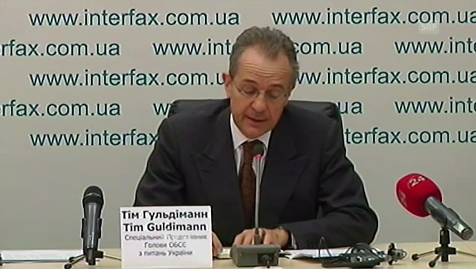 Tim Guldimann: Quote zu seinen Gesprächen in der Ostukraine (Englisch)