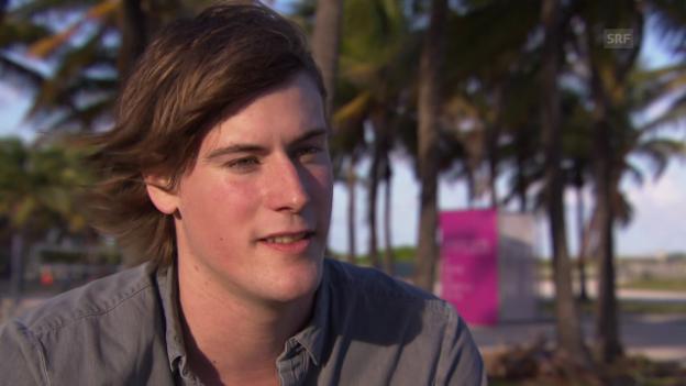 Video «Julian Charrière in Miami» abspielen