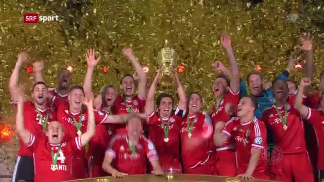 DFB-Pokal: Stuttgart - Bayern München («sportaktuell»)