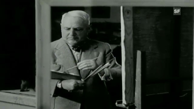 75. Geburtstag des Malers Cuno Amiet