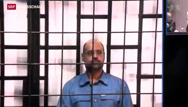 Video «Gaddafi-Sohn zum Tode verurteilt» abspielen