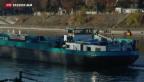 Video «Die Rheinschifffahrt fürchtet sich vor dem Klimawandel» abspielen