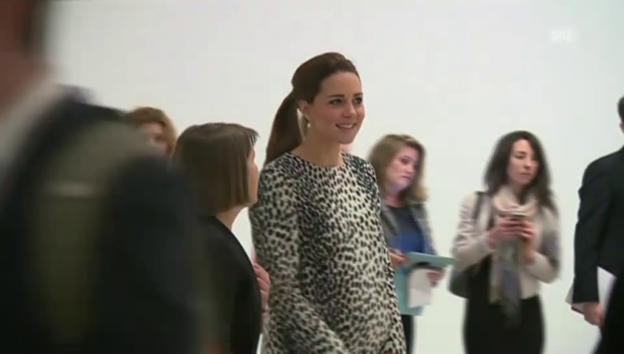 Video «Lächeln und Staunen: Kate in der Kunstgalerie (unkommentiert)» abspielen