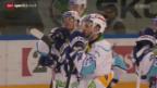 Video «Eishockey: Lausanne - Lakers» abspielen