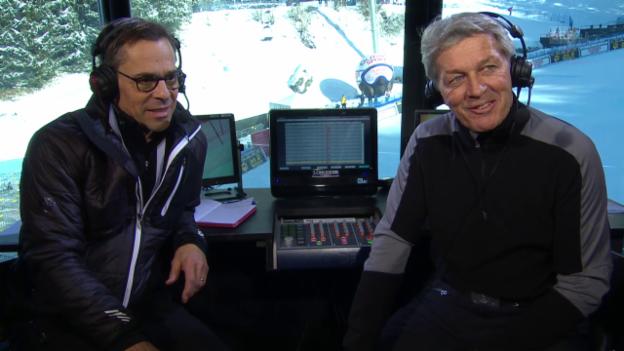 Video «Ski: Weltcup Wengen, Thesen Russi/Hüppi Teil 4» abspielen