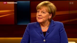Video «Deutsche Kanzlerin verteidigt ihre Flüchtlingspolitik» abspielen