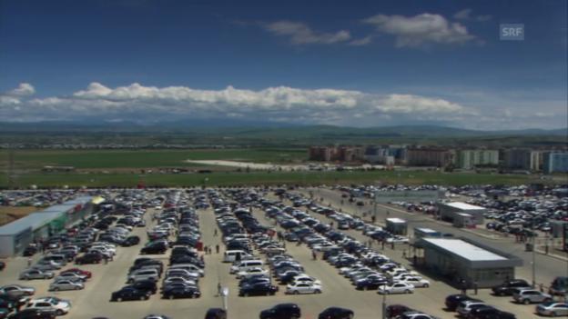 Video «Rustavi: Der grösste Automarkt im Kaukasus» abspielen