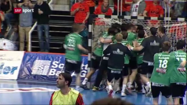 Video «Handball: Wacker gleicht Finalserie aus («sportaktuell»)» abspielen