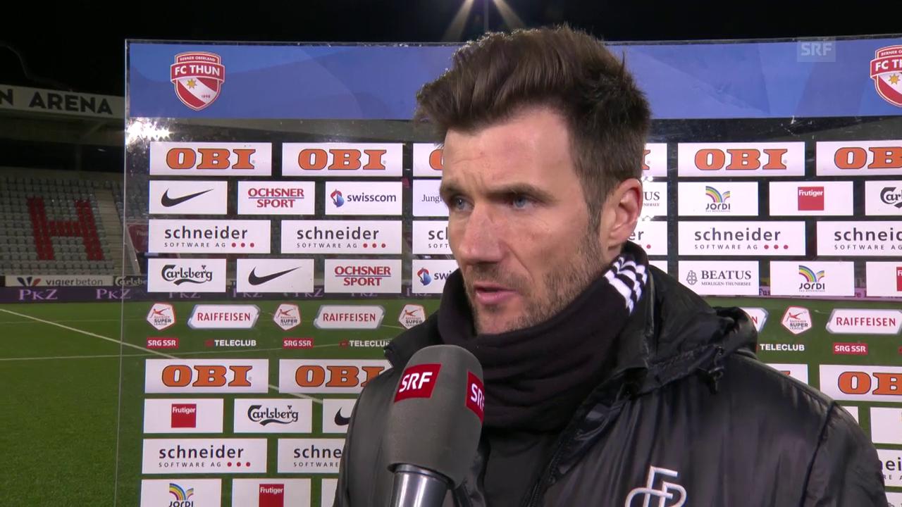 Wicky: «Thun hat uns in der 2. Halbzeit das Leben schwer gemacht»