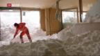 Video «FOKUS: Hotel Säntis befindet sich in Lawinen-Gefahrenzone» abspielen