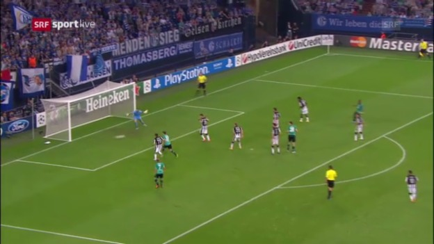 Video «Highlights Schalke 04 - PAOK Saloniki («sportlive»)» abspielen