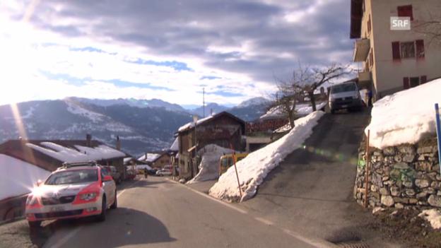 Video «Mann erschiesst im Wallis drei Frauen» abspielen