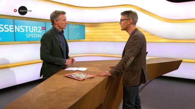 Video «Studiogespräch mit Technikhistoriker Prof. Kaspar Hirschi» abspielen