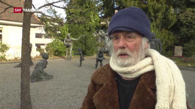 Video «Pfarrer Sieber ist 90» abspielen