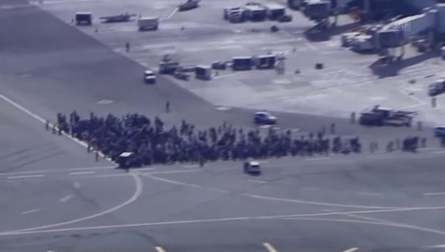 Video «Tote bei Schiesserei auf Flughafen in Florida (unkomm.)» abspielen